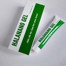 Gel bôi ngoài da Halanano tuýp 20g  - giúp làm dịu mát khi da bị mẩn ngứa, khó chịu