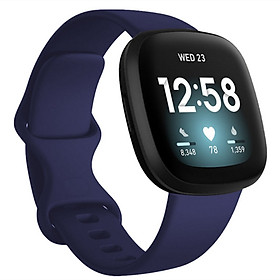 Dây đeo tay bằng silicon cho Fitbit Versa 3 / Fitbit Sense