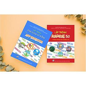 Combo sách lập trình với Scratch 3.0 và sách lập trình với App Inventor
