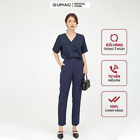 Quần tây nữ thiết kế xẻ lai GUMAC QB546