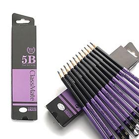 COMBO 6 Cây Bút chì gỗ 5B cao cấp CLASSMATE Fine Art 5B CL-PC905