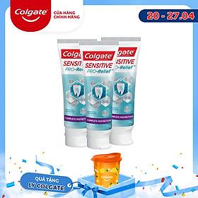 Bộ 3 Kem đánh răng Colgate Sensitive ngăn ê buốt và bảo vệ toàn diện 110g/tuýp