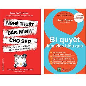Combo 2 Cuốn Sách:  Nghệ Thuật Bán Mình Cho Sếp + 8 Bí Quyết Làm Việc Hiệu Quả