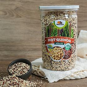 Hạt Quinoa (Diêm Mạch) mix 3 loại Smile Nuts hộp 600g - Mixed Quinoa Seed Smile Nuts 600g