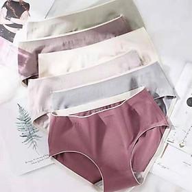 Combo 3 quần lót nữ y tế kháng khuẩn cotton cao cấp không đường may