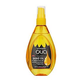 Xịt dưỡng tóc Garnier Olia Super Shine Oil With Natural Flower Oils 150ml