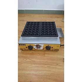 máy làm bánh takoyaki bánh bạch tuộc model máy gas 56 lỗ