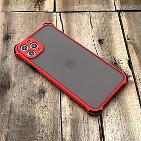 Ốp lưng chống sốc toàn phần dành cho iPhone 11 Pro Max - Màu đỏ