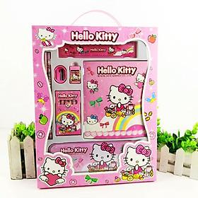 Dụng cụ học tập 8 món hình Kitty