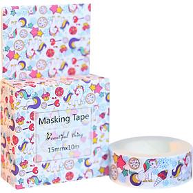 Băng Keo Giấy Trang Trí Masking Tape - Kỳ Lân