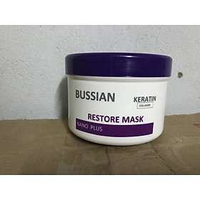 Hấp dầu Bussian keratin siêu mềm mượt