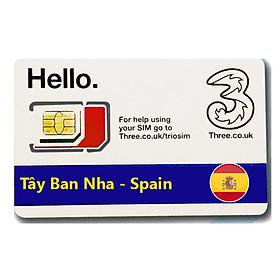 Sim Du lịch Tây Ban Nha - Spain 4G tốc độ cao