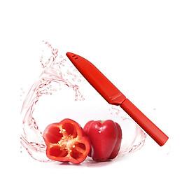 Bộ 2 dao gọt trái cây chuyên dụng có nắp tiệt trùng (Giao màu ngẫu nhiên) - Hàng nội địa Nhật