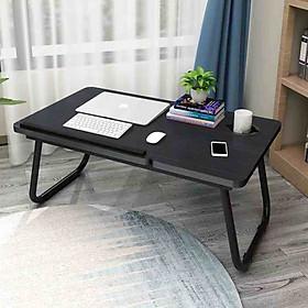 Bàn Laptop Gấp Gọn Có Khay Để Cốc TM-BK2005