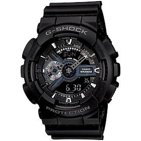 Đồng hồ nam dây nhựa Casio G-Shock chính hãng GA-110-1BDR