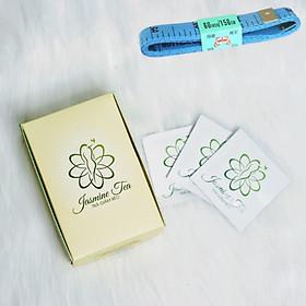 Trà Hỗ Giảm Béo Jasmine Tea (Hộp 15 gói), Tặng kèm thước dây đo vòng eo