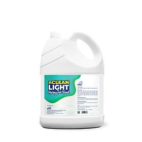 Nước lau sàn diệt khuẩn Nano bạc nClean Light - can 5 lít