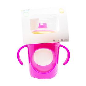 Cốc tập uống chống tràn Ami Thái Lan 250ml ( AM55414) - Màu hồng