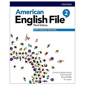 American English File: Level 2: Students Book With Online Practice - 3rd Edition