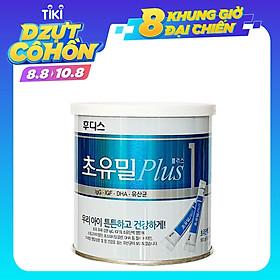Sữa Non ILDong Foodis Choyumeal Plus Số 1, Hàng Nội Địa Hàn Quốc, Hộp 100 Gói Nhỏ - Bổ Sung Kháng Thể Tự Nhiên, Tăng Sức Đề Kháng và Miễn Dịch Giúp Bé Từ Sơ Sinh- 12 Tháng Khỏe Mạnh, Hạn Chế Ốm Vặt