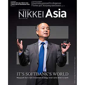 Nikkei Asian Review: Nikkei Asia - 2021: IT'S SOFTBANK'S WORLD - 22.21 tạp chí kinh tế nước ngoài, nhập khẩu từ Singapore