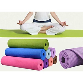 Thảm tập yoga Ribobi 4mm (Nhiều màu)