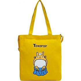 Túi Vải Tote Đeo Chéo Totoror Ngồi