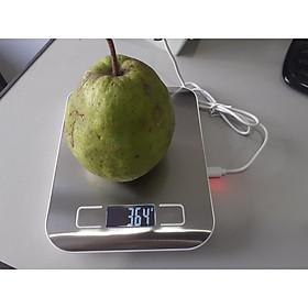 Cân điện tử tiểu ly 5KG - 1g ,cân nhà bếp mini ,cân nhà bếp nhỏ gọn , cân điện tử để bàn , cân nguyên liệu chính xác cao cấp(dùng sạc cổng USB)
