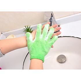 Combo 2 găng tay tạo bọt dùng để tắm - Giao màu ngẫu nhiên