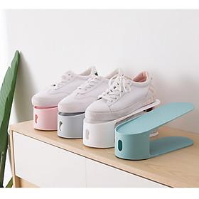 Giá, kệ NHỰA để giày dép tích hợp thông minh đơn giản tiết kiệm tối đa diện tích phòng, siêu tiện lợi - Giao màu ngẫu nhiên