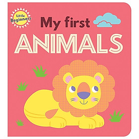 Little Beginners Mini Padded Board Book - My First Animals