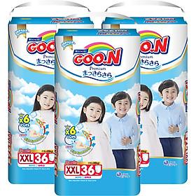 Combo 3 Gói Tã Quần Goo.n Premium Cực Đại XXL36 (36 Miếng) - Tặng 1 Tã Quần Đại XXL20 (20 Miếng)-1
