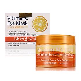 Mặt Nạ Mắt Bioaqua Vitamin C Eye Mask Natural Eye Care (Hộp 36 miếng)