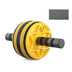 Automatic Rebound Abdominal Wheel Muscle Wheel Fitness Equipment Machine (Including Kneeling Pad Hassock) + Auxiliary