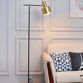 Đèn cây đứng mạ vàng đèn sàn đứng trang trí phòng khách cao cấp ML-561