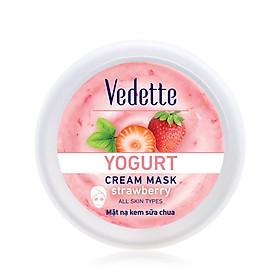 Mặt nạ dưỡng ẩm sữa chua dâu Vedette hũ 120ml