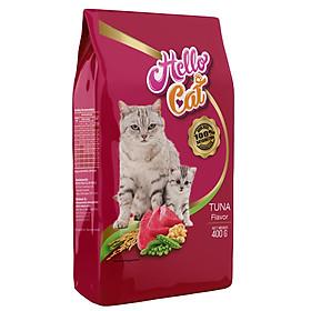 Thức Ăn Cho Mèo Tất Cả Các Giống Vị Cá Ngừ - Hello Cat Tuna