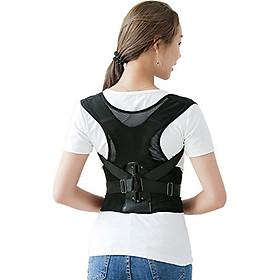 Đai Chống Gù Lưng Cho Cả Nam Và Nữ, chống đau mỏi lưng, phía sau thiết kế vải lưới rất thông thoáng. Chất liệu vải thun co giãn, rành cho những đối tượng gặp vấn đề về cột sống lưng, đau mỏi lưng. Size M, L, XL, XXL