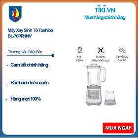Máy Xay Sinh Tố Toshiba BL-70PR1NV (700W - 1.5 Lít) - Hàng Chính Hãng