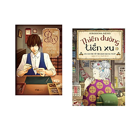 Combo 2 cuốn sách: Ở đây sửa kỷ niệm xưa tập 1 + Thiên đường tiền xu - Câu chuyện về tiệm bánh kẹo ma thuật 3