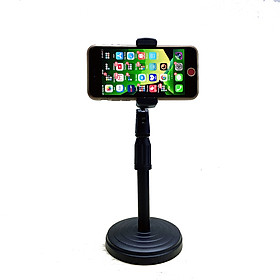 [Giá đỡ] Chân đế để bàn kẹp điện thoại tiện dụng dùng livestream, quay video và giải trí