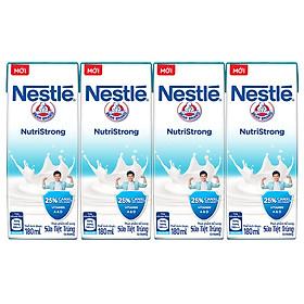 Lốc 4 Hộp Sữa Nước Nestlé Uống Liền (180ml x 4)