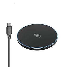 Đế sạc nhanh không dây công suất 18W cho mọi dòng điện thoại, có hỗ trợ sạc nhanh 15W-18W