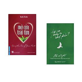 Combo 2 cuốn sách: Mở Cửa Trái Tim + Tại sao chúng ta không hạnh phúc
