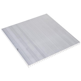 Baoblade 195x10x200mm Nhôm Tản Nhiệt Làm Mát Vây cho CPU Máy Tính/IC ĐÈN LED/Công Suất bộ khuếch đại, bạc, 1 Túi