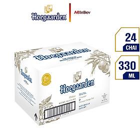 Thùng 24 Chai Bia Hoegaarden (330ml / Chai)
