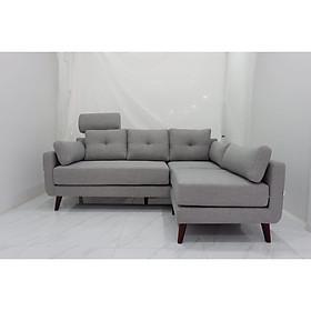 Sofa góc linh hoạt Juno Sofa 220 * 150 cm (xám)