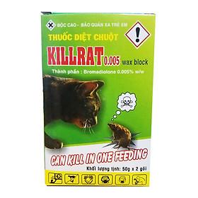 Thuốc diệt chuột Killrat (100g/hộp) - dạng cốm