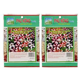 Bộ 2 Gói Hạt Giống Hoa Dạ Yên Thảo Sọc Phú Nông (30 Hạt / Gói)