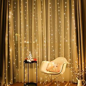 Đèn Led Trang Trí 3*3 M Treo Rèm Cửa MoXi Thích Hợp Trang Trí Phòng Ngủ Tiệc Cưới Sinh Nhật